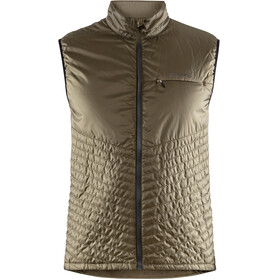 Craft Urban Run - Gilet running Homme - marron/olive